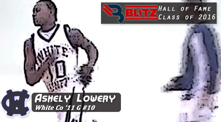 BLITZ HOF - Ashely Lowery Basketball - WHITE CO