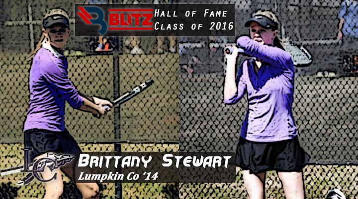 BLITZ HOF - Brittany Stewart - LUMPKIN CO