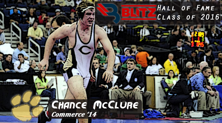 BLITZ HOF - Chance McClure - COMMERCE