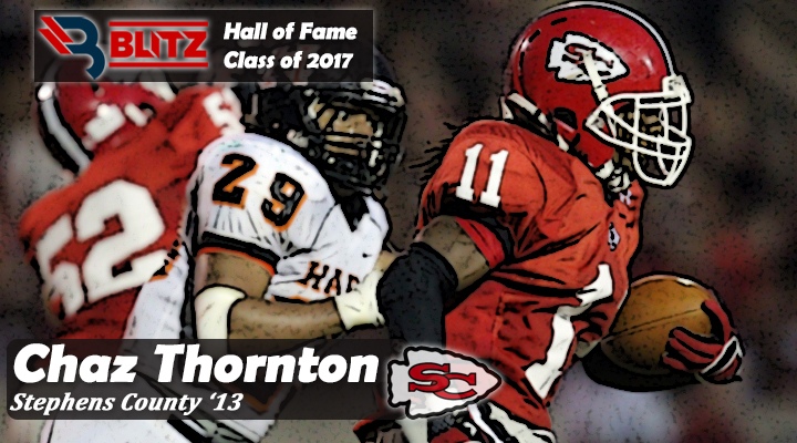 BLITZ HOF - Chaz Thornton STEPHENS CO