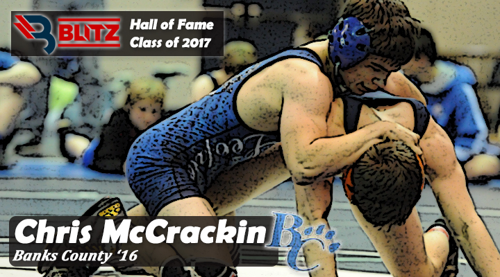 BLITZ HOF - Chris McCrackin BANKS CO