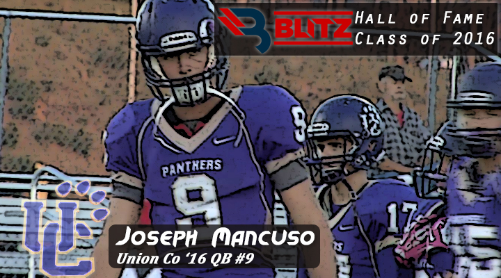 BLITZ HOF - Joseph Mancuso - UNION CO
