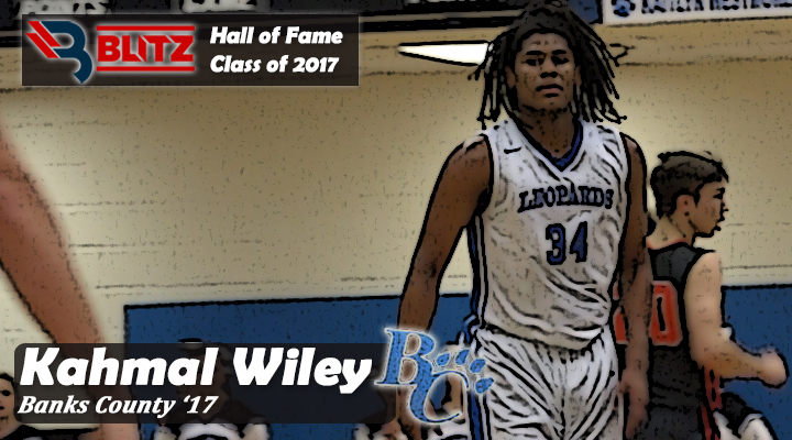 BLITZ HOF - Kahmal Wiley BANKS CO