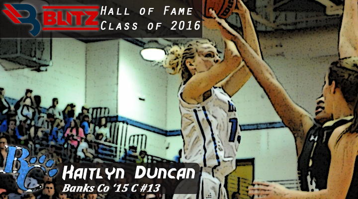 BLITZ HOF - Kaitlyn Duncan - BANKS CO