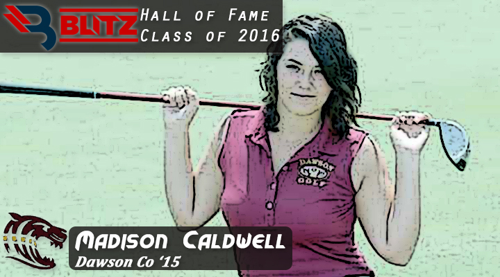 BLITZ HOF - Madison Caldwell - DAWSON CO