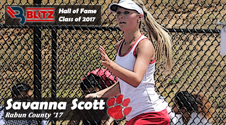 BLITZ HOF - Savanna Scott 2 RABUN CO