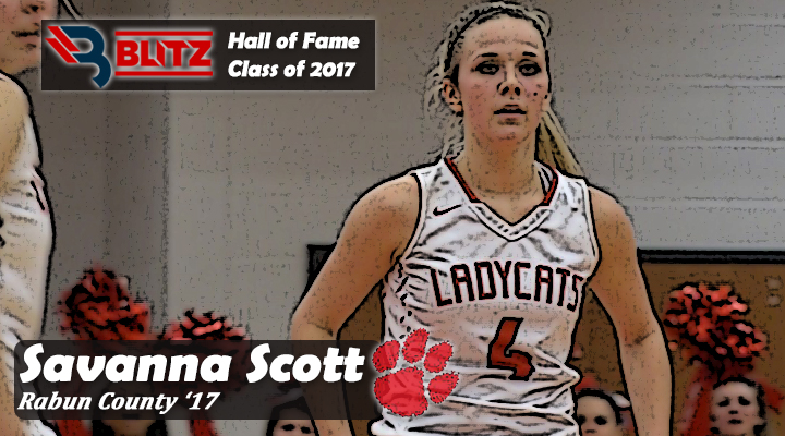 BLITZ HOF - Savanna Scott RABUN CO