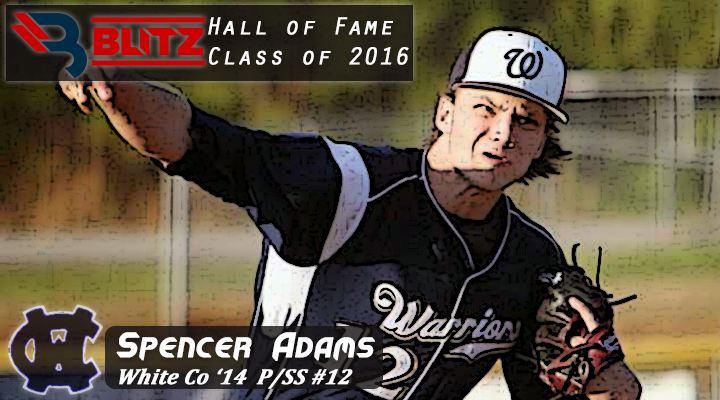 BLITZ HOF - Spencer Adams - WHITE CO