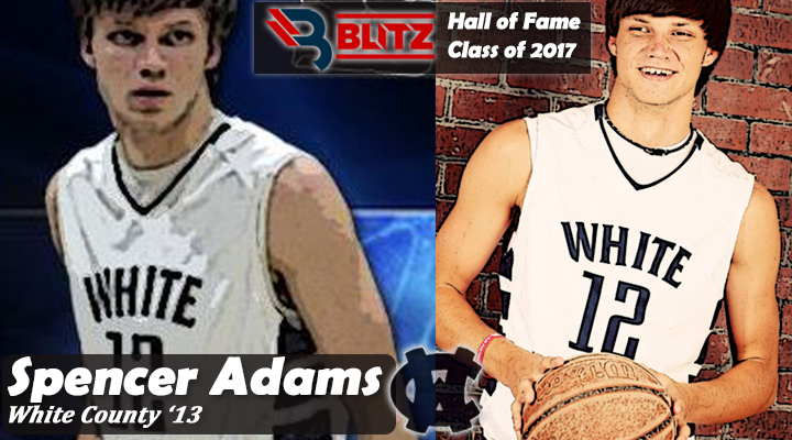 BLITZ HOF - Spencer Adams WHITE CO