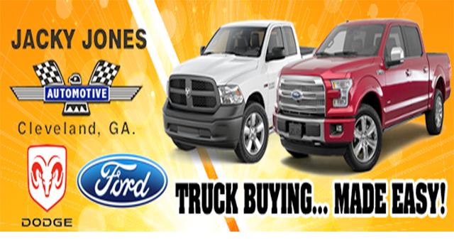 jacky jones truck buying
