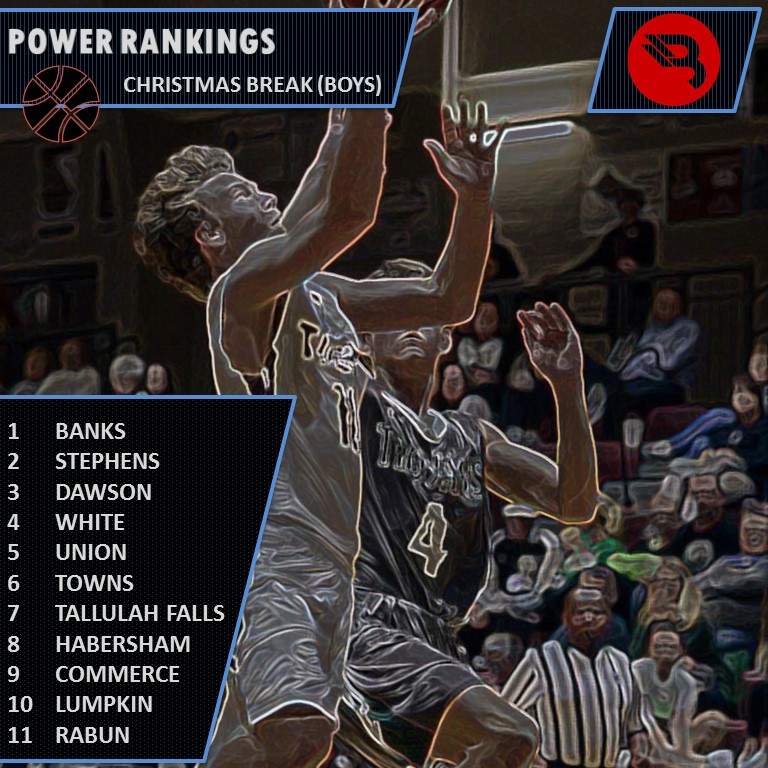 Power Rankings - Boys Christmas Break