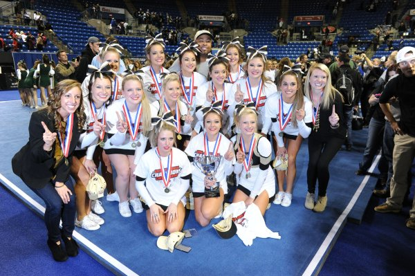 Commerce Cheer 2014 State Champions