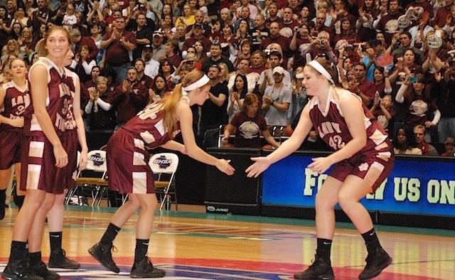 Dawson Lady Tigers 2013 state final