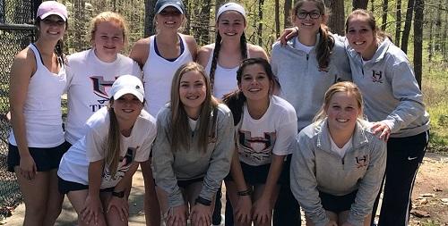 HC 2018 girls tennis