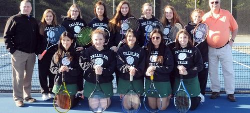 TFS 2018 girls tennis