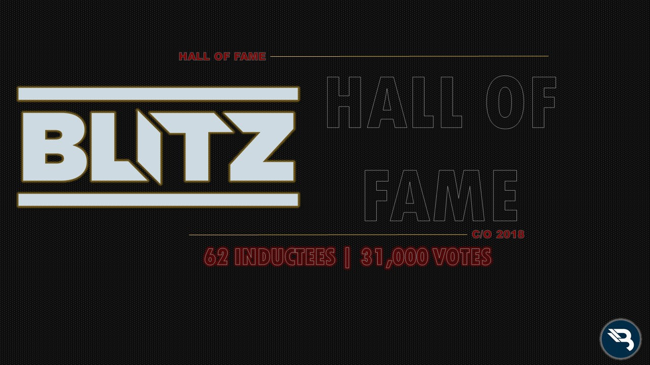 BLITZ Hall of Fame Class of 2018: 62 Inductees – BLITZ