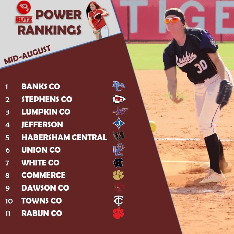 SB Power Rankings MidAugust