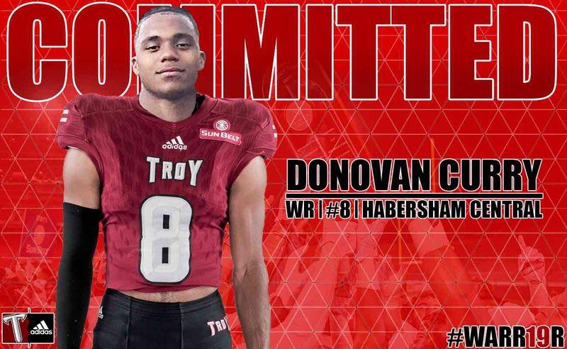 Donovan Troy commit