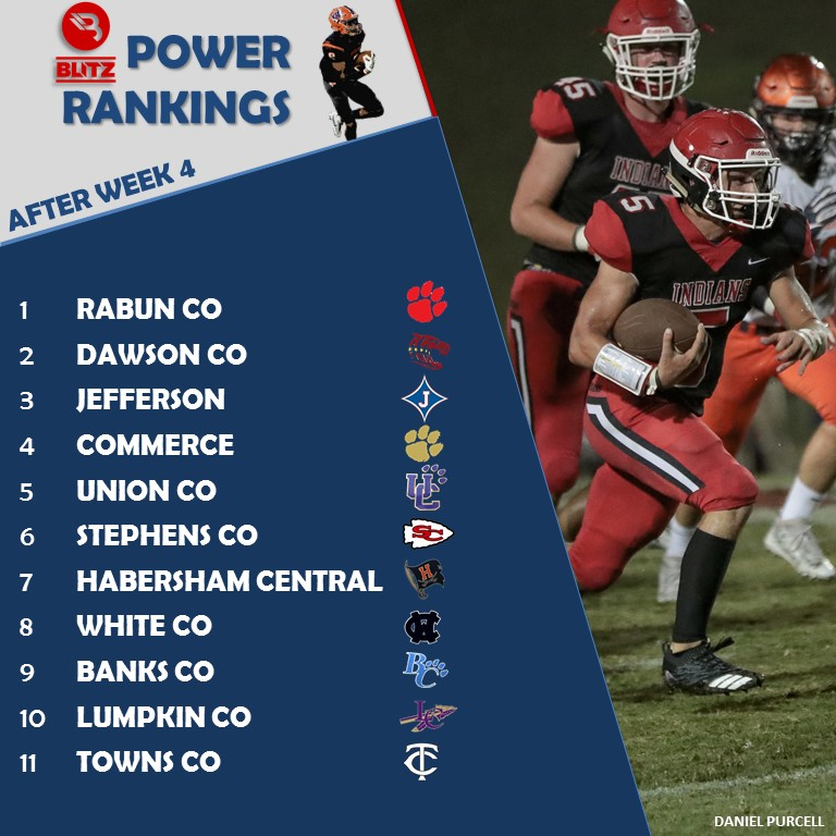 POWER RAKINGS - AFTER WEEK 4