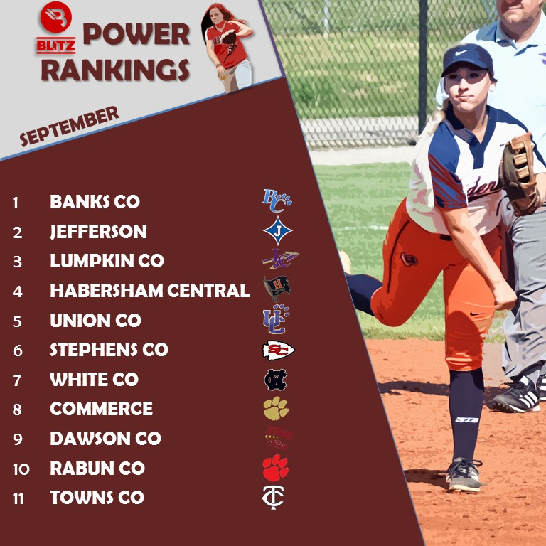 SB Power Rankings September