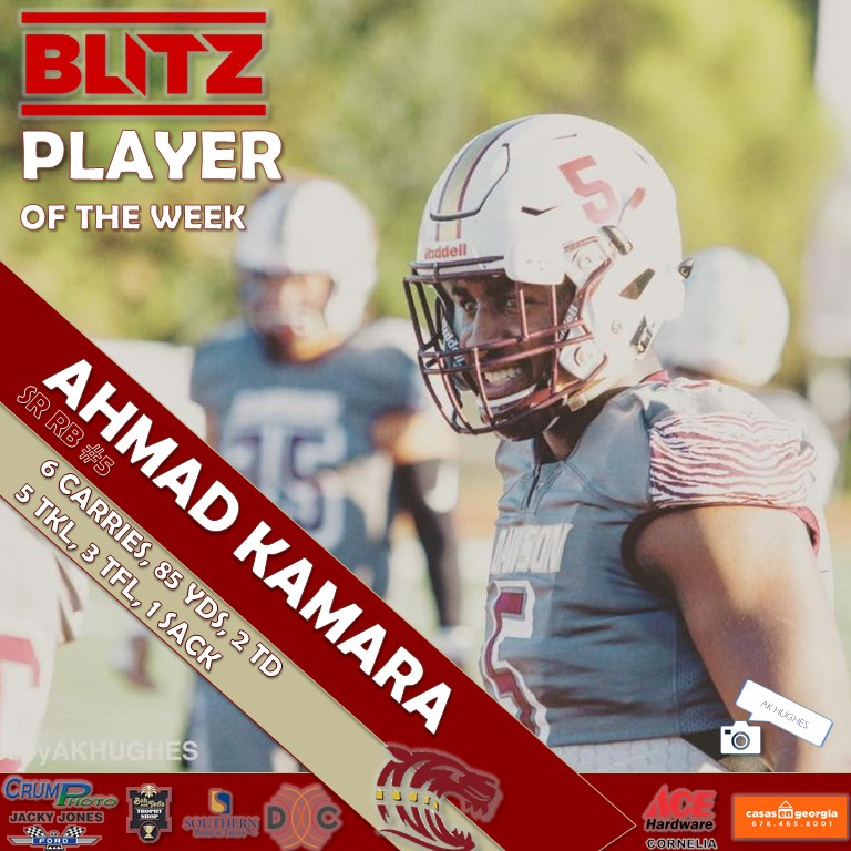 Ahmad Kamara - Dawson
