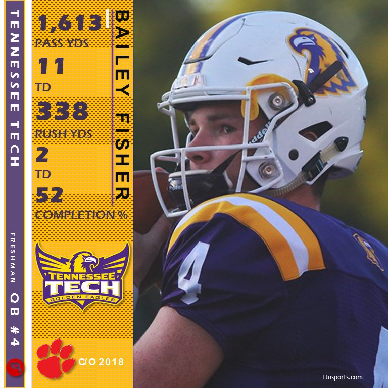 Bailey Fisher - Rabun - TTU FB