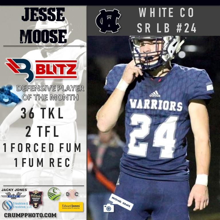 Jesse Moose - White DPOM
