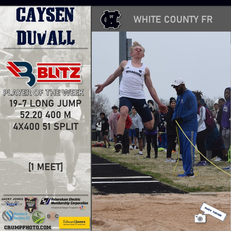 Caysen Duvall - White