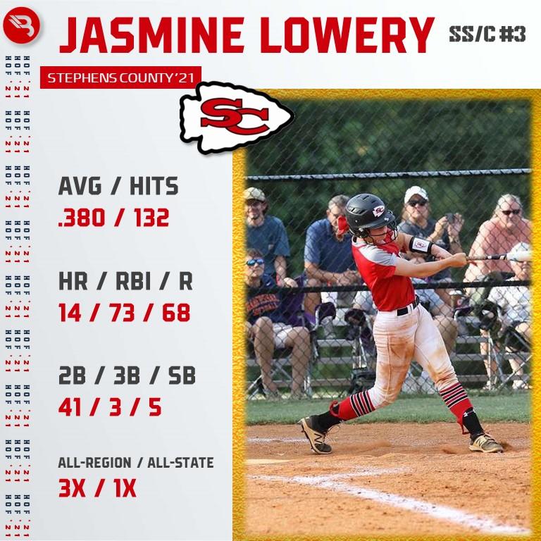 Jasmine Lowery HOF